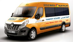 Transport scolaire privé