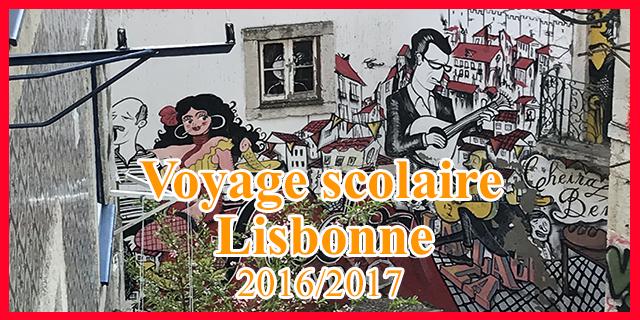 Voyage scolaire à Lisbonne