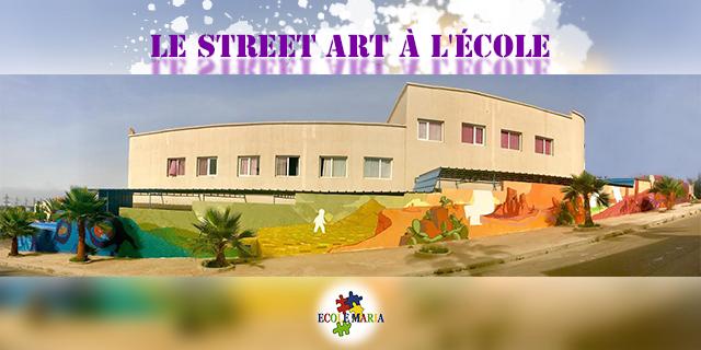 L'Ecole Maria met à l'honneur le Street Art