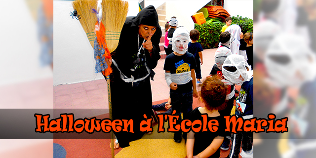 Célébration d'Halloween