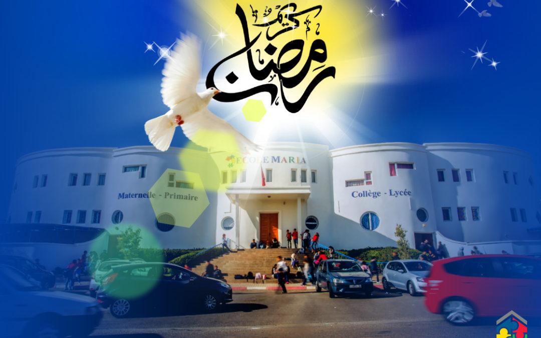 Félicitation à l'occasion du Mois de Ramadan