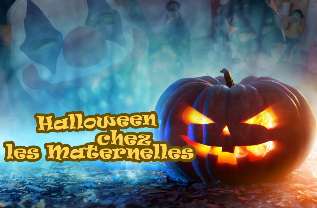 Halloween chez les Maternelles