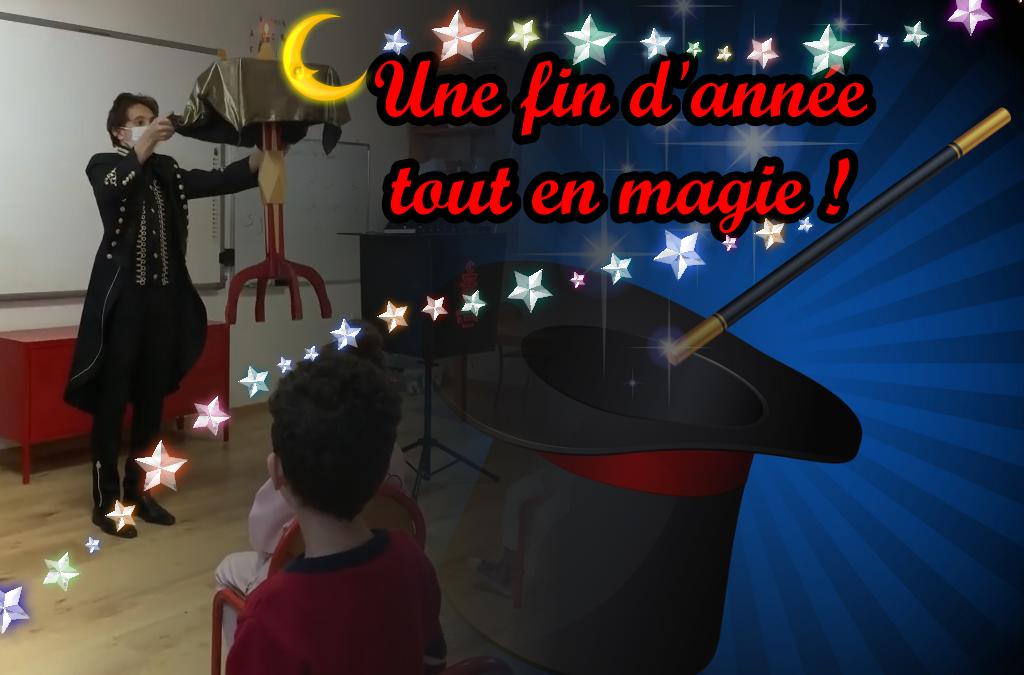 Une fin d'année tout en magie !